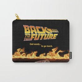 Back to the future Art Concept poster Carry-All Pouch