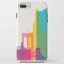 Shapes of Brooklyn. Accurate to scale iPhone Case