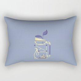 bottle 9 : theiere alambiquee Rectangular Pillow