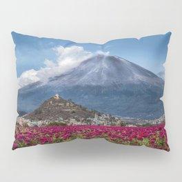 Popocatepetl Volcano Puebla Mexico Pillow Sham
