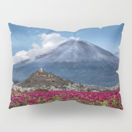 Popocatepetl Volcano Puebla Mexico Pillow Sham