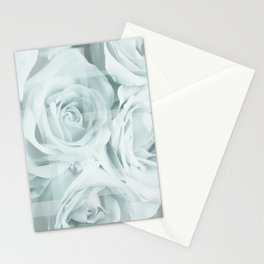 Roses collage Stationery Cards