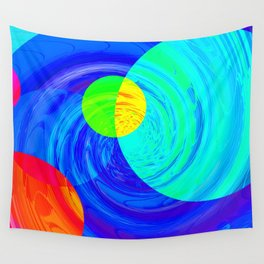 Re-Created Twisters No. 12 by Robert S. Lee Wall Tapestry
