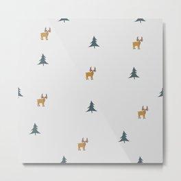 The Moose Metal Print