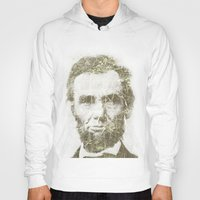 lincoln Hoodies featuring Abraham Lincoln by Sney1