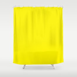Flower Garden ~ Yellow Shower Curtain
