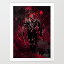 Ultimate Slaying Goblin Art Print