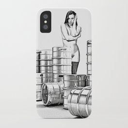 Lager and Lead iPhone Case