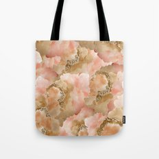 Gold in the clouds Tote Bag