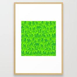Slimed Framed Art Print