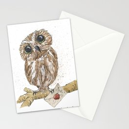 Owl Letter For You Stationery Cards