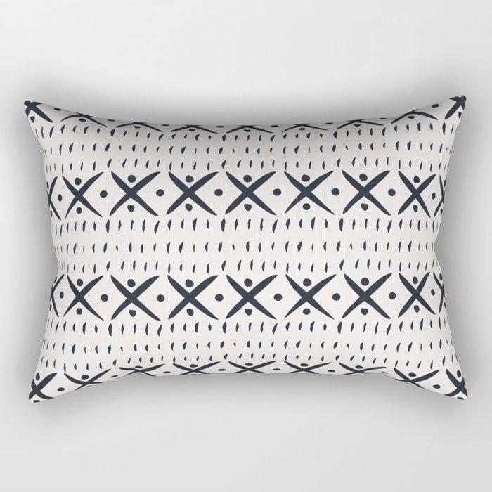 ADOBO MUDCLOTH LIGHT Rectangular Pillow