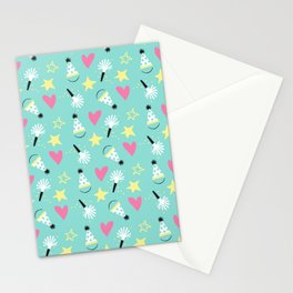 Party stars Stationery Cards