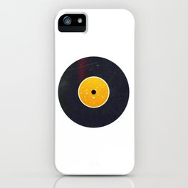 Vinyl Record Star Sign Art | Leo iPhone Case