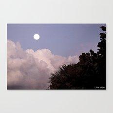 Rising Moon Canvas Print