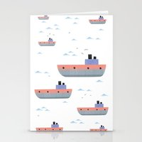 ships Stationery Cards featuring ships by Turksen Kizil