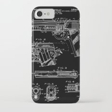 Colt 1911 Handgun Patent - Black iPhone 7 Slim Case