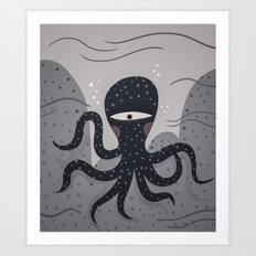 cycloctopus Art Print