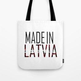 Made In Latvia Tote Bag