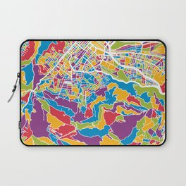 Cape Town South Africa City Street Map Laptop Sleeve