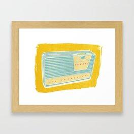 Radio II Framed Art Print