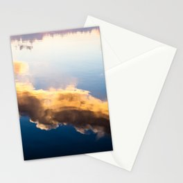 Cloud reflection Stationery Cards