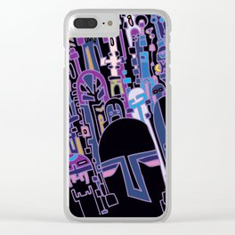 SILICON VALLEY HIGH Clear iPhone Case