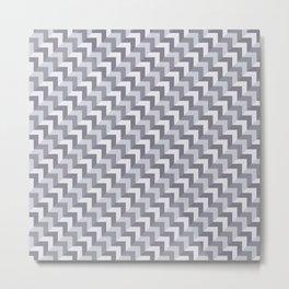 Layer 1 Delicate A Metal Print