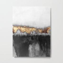 Gloomy Metal Print