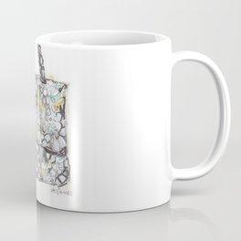floral handbag  Coffee Mug