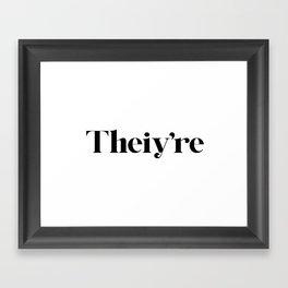 Get It Right Framed Art Print