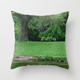 The Smuggler II Throw Pillow