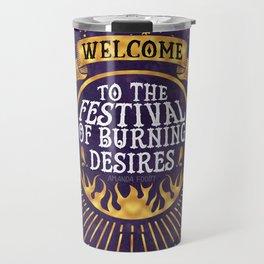 Daughter of the Burning City - Amanda Foody - Purple Travel Mug