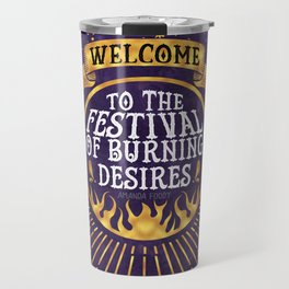 Daughter of the Burning City - Amanda Foody - Purple Travel Mug