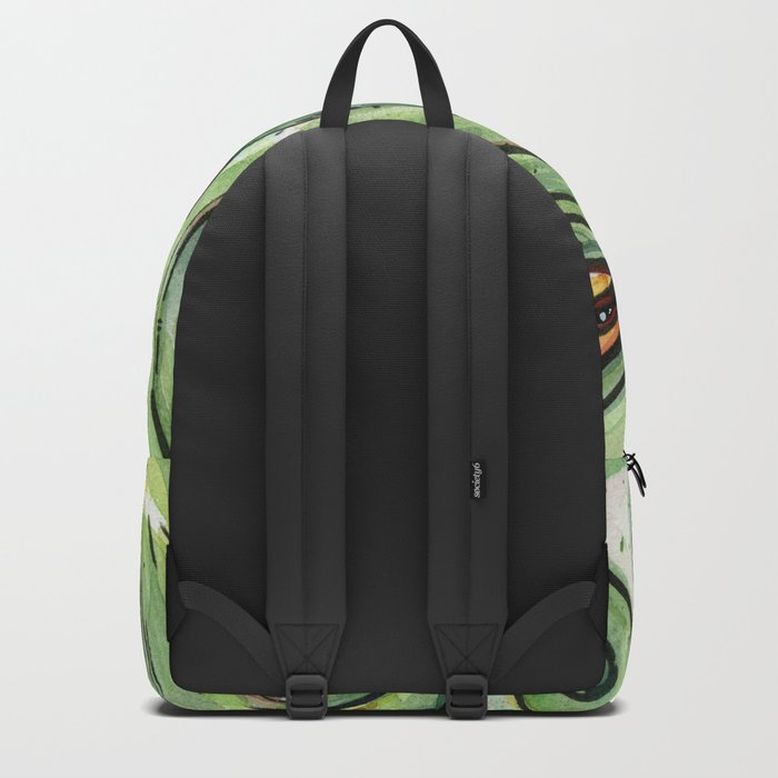 Cthulhu HP Lovecraft Green Monster Tentacles Backpack