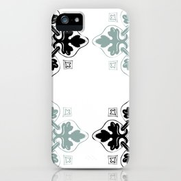 Portugese Leaf Pattern iPhone Case