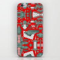 crocodile iPhone & iPod Skins featuring crocodile by BUBUBABA