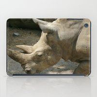 rhino iPad Cases featuring Rhino by Cindy Munroe Photography