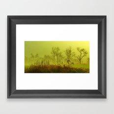 Fairies Nebula Framed Art Print