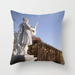 Music! (Vienna Belvedere Garden) Throw Pillow