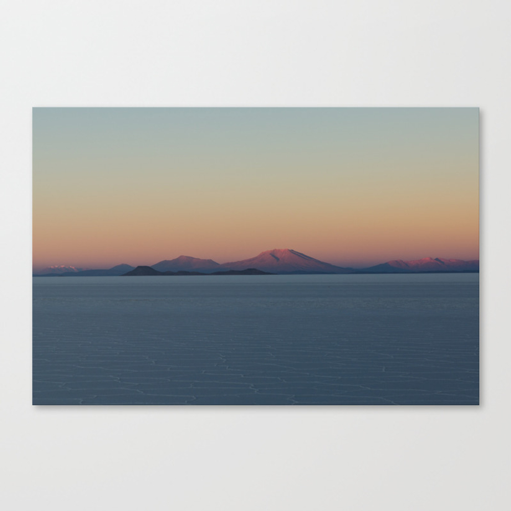 Calm Glow Canvas Print by Glowing CNV8023770