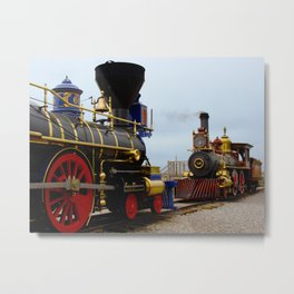 Golden Spike Historic Site Metal Print