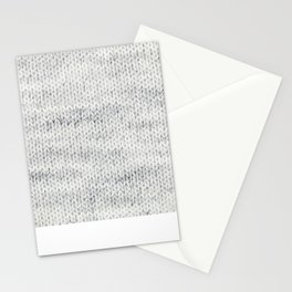 Gray Wool Stationery Cards