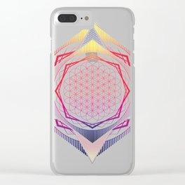Song of the spheres Clear iPhone Case