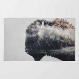 Wild West Bison Rug