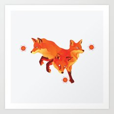 Keep the Fire Art Print