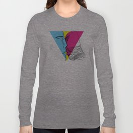 Primary kiss Long Sleeve T-shirt