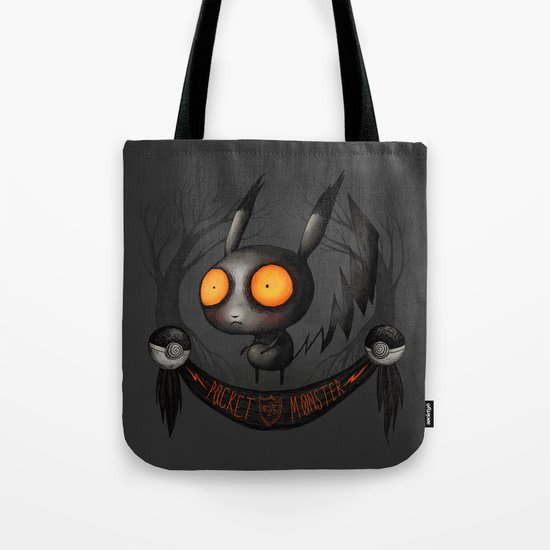 Pocket Monster #025 Tote Bag