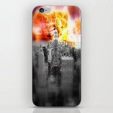New York on Fire iPhone & iPod Skin