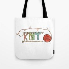 K-N-I-T Tote Bag